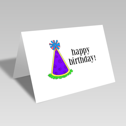 Birthday Hat Card