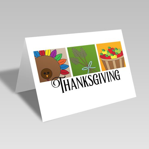 Boxed Thanksgiving Card