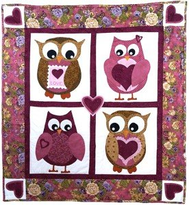 Owl Be Your Valentine Quilt Pattern
