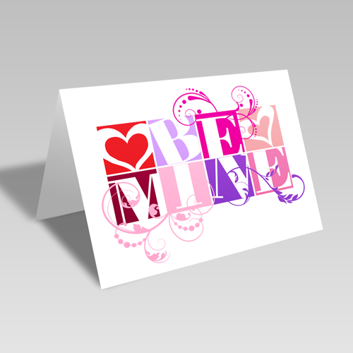 Be Mine Boxes Card
