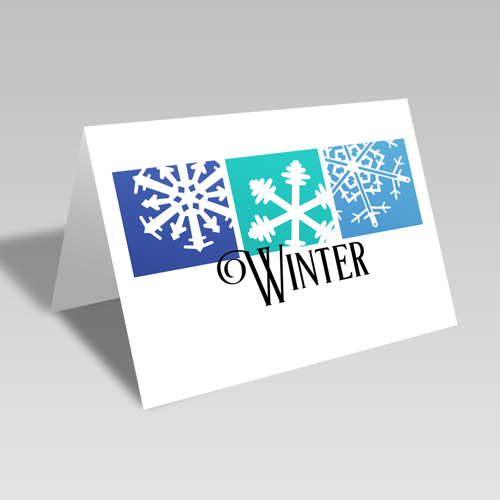 Boxed Winter Card