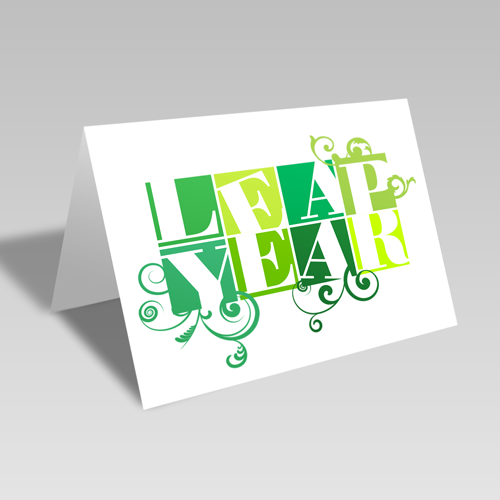 Leap Year Boxes Card