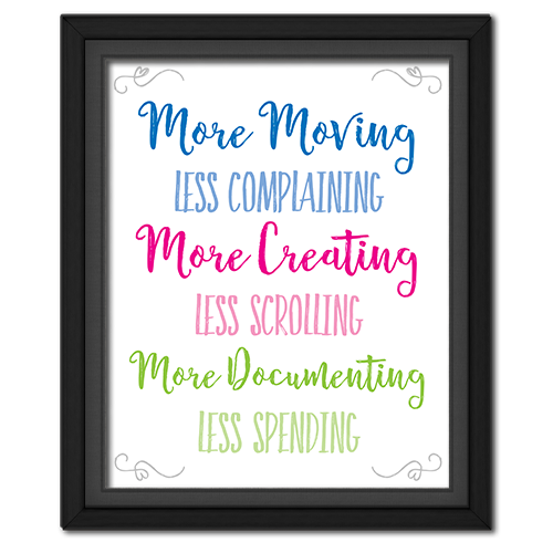 Life Goals Quote Picture *Free Printable*