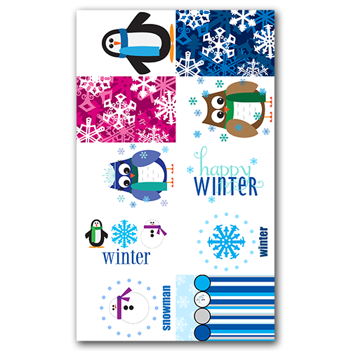 Winter Gift Tags Set