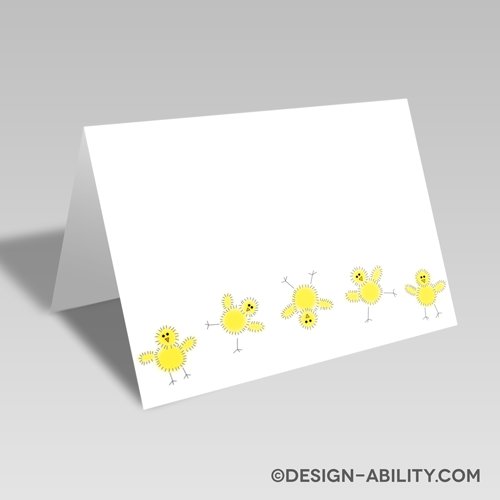 Cheerful Chicks Card