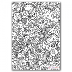 Free Coloring Page #freeprintable #adultcoloringpage
