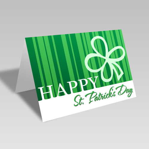 Modern St. Patrick Card