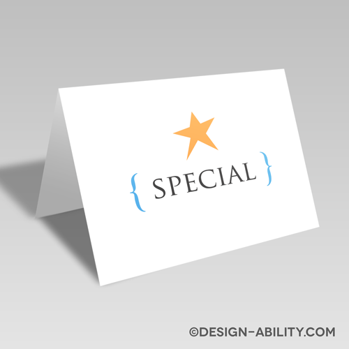 Exclamation Card: Special