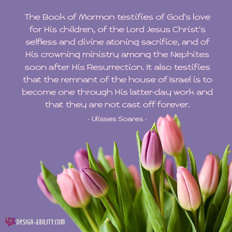 Book of Mormon Testifies of God's Love