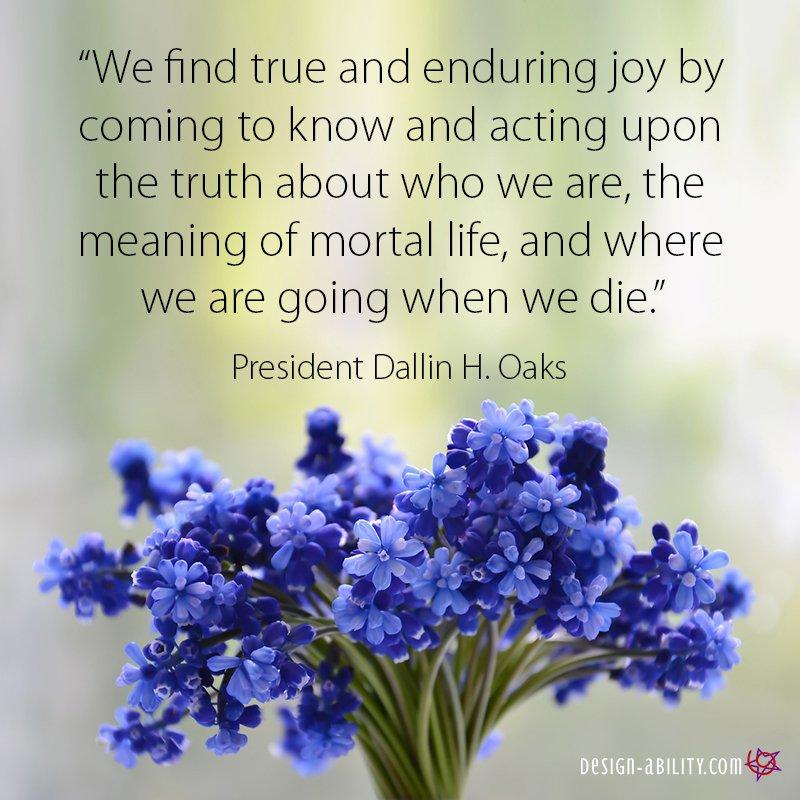 Find True & Enduring Joy