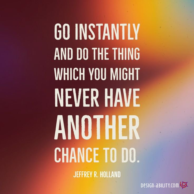 Go Instantly & Do