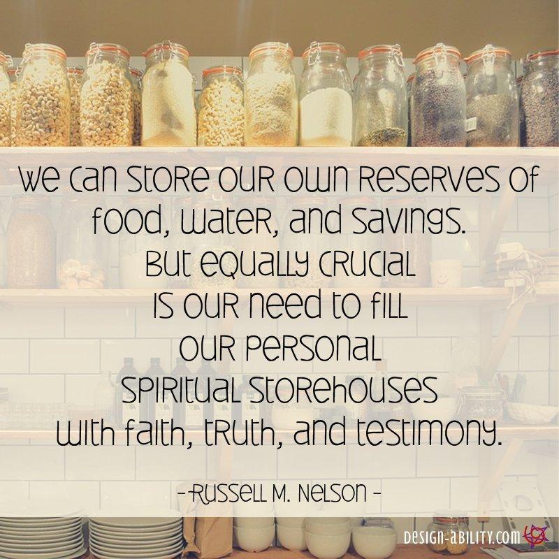 Spiritual Storehouses