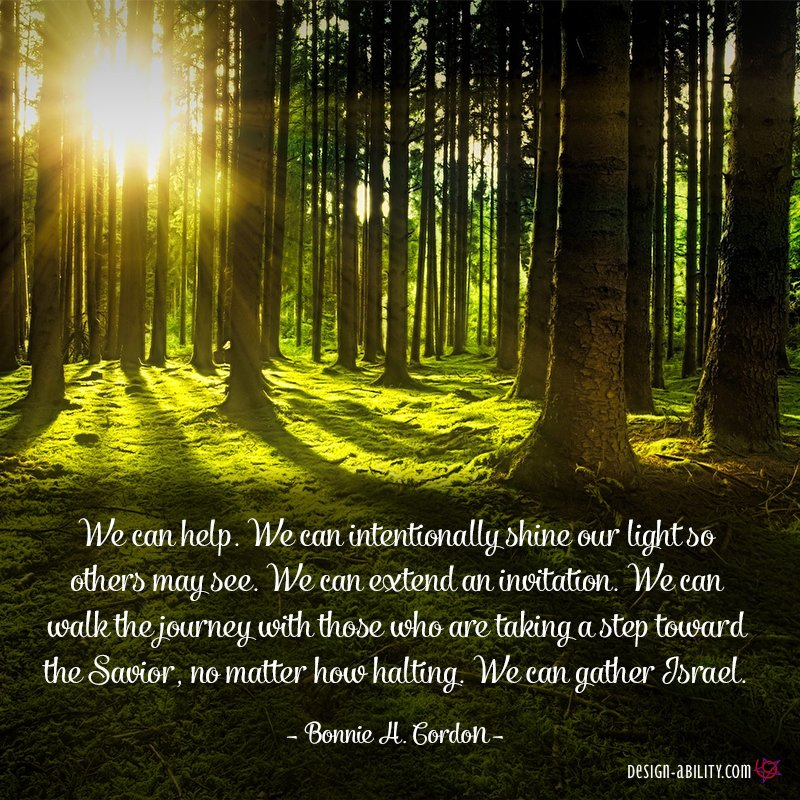 We Can Help By Intentionally Shining Our Light