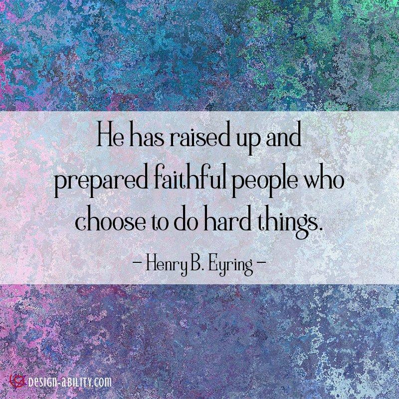 He Has Raised Up & Prepared Faithful People