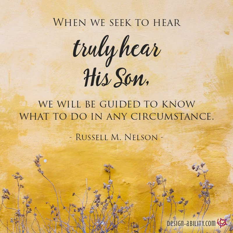 When We Seek to Hear