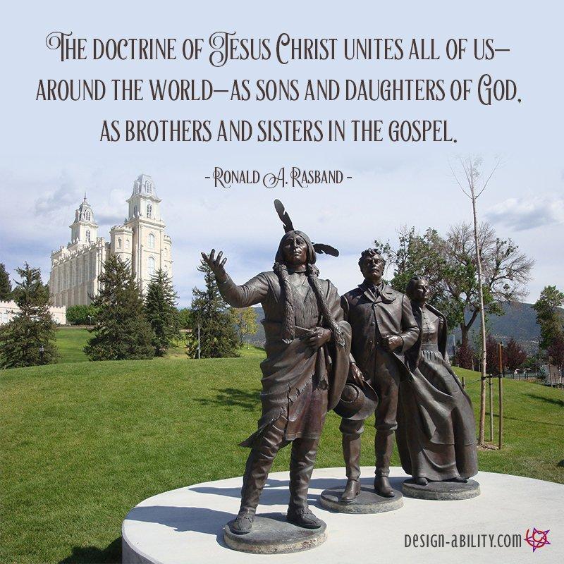 The Doctrine of Jesus Christ Unites Us