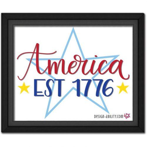 America Est 1776