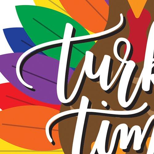 Turkey Time Card