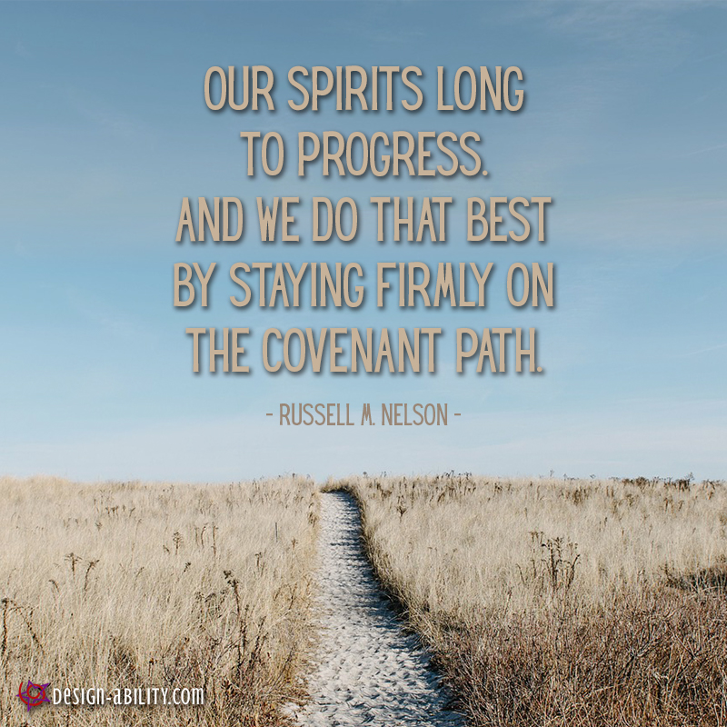 Our Spirits Long to Progress